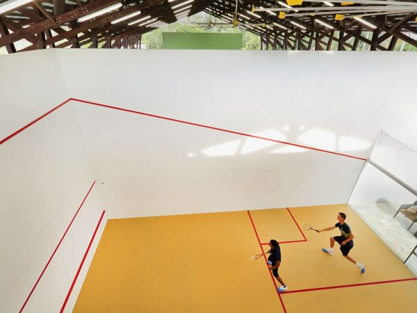 Covered Squash Court