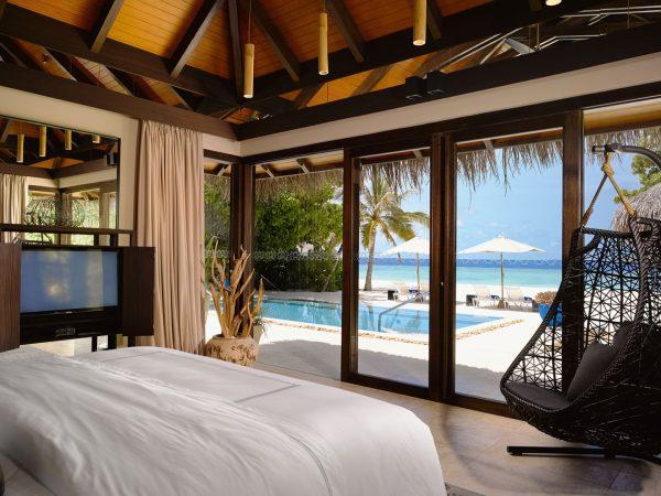 Deluxe Beach Pool Villa Bedroom