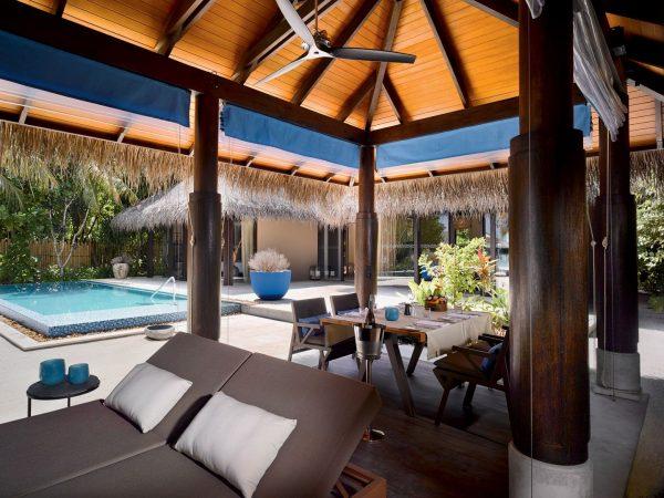 Deluxe Beach Pool Villa Outfoor Area