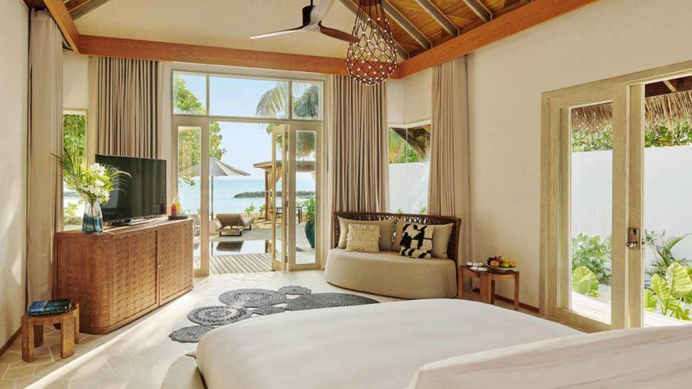 Hotel Fairmont Maldives Sirru Fen Fushi Beach Sunrise Villa