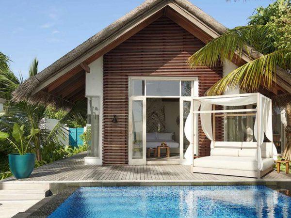 Hotel Fairmont Maldives Sirru Fen Fushi Deluxe Beach Sunrise Villa