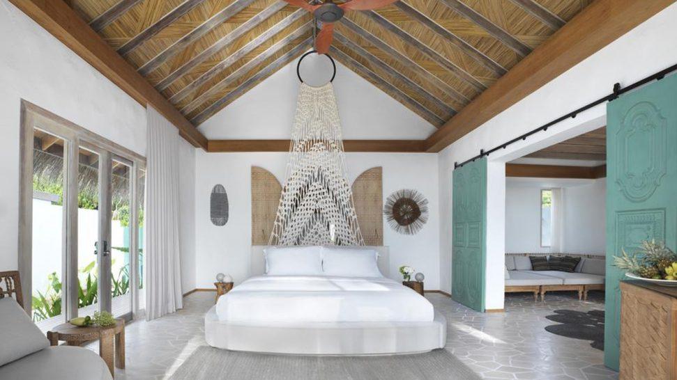 Hotel Fairmont Maldives Sirru Fen Fushi Deluxe Beach Sunset Villa