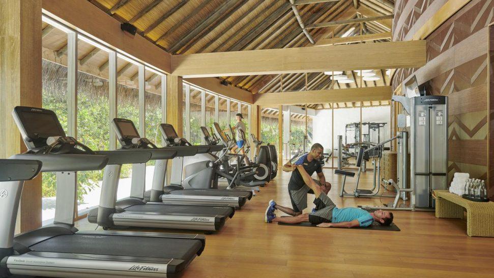 Hotel Fairmont Maldives Sirru Fen Fushi Gym
