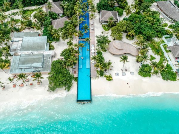 Hotel Fairmont Maldives Sirru Fen Fushi Pool