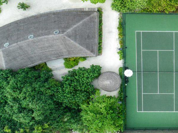 Hotel Fairmont Maldives Sirru Fen Fushi Tennis