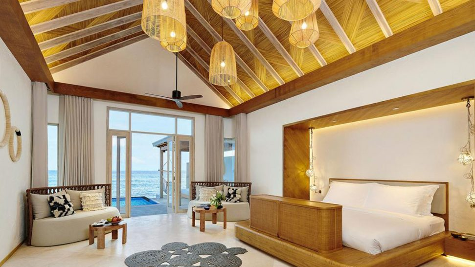 Hotel Fairmont Maldives Sirru Fen Fushi Two Bedroom Water Sunrise Villa
