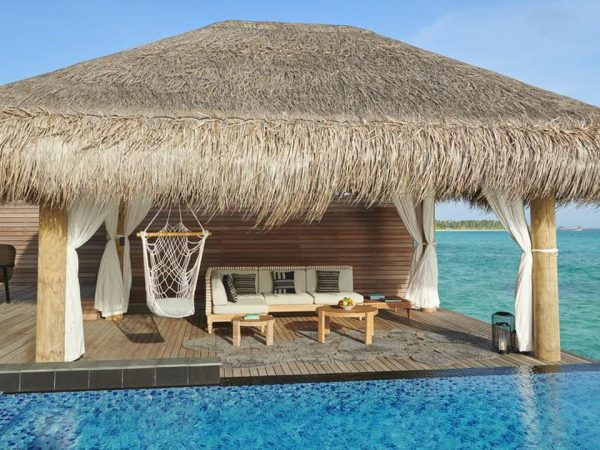 Hotel Fairmont Maldives Sirru Fen Fushi Two Bedroom Water Sunset Villa
