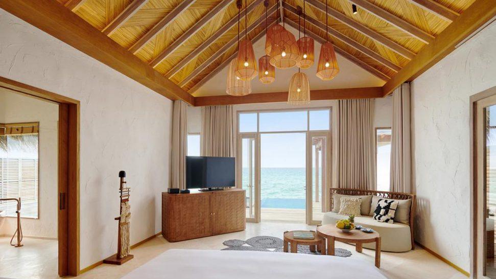 Hotel Fairmont Maldives Sirru Fen Fushi Water Sunrise Villa