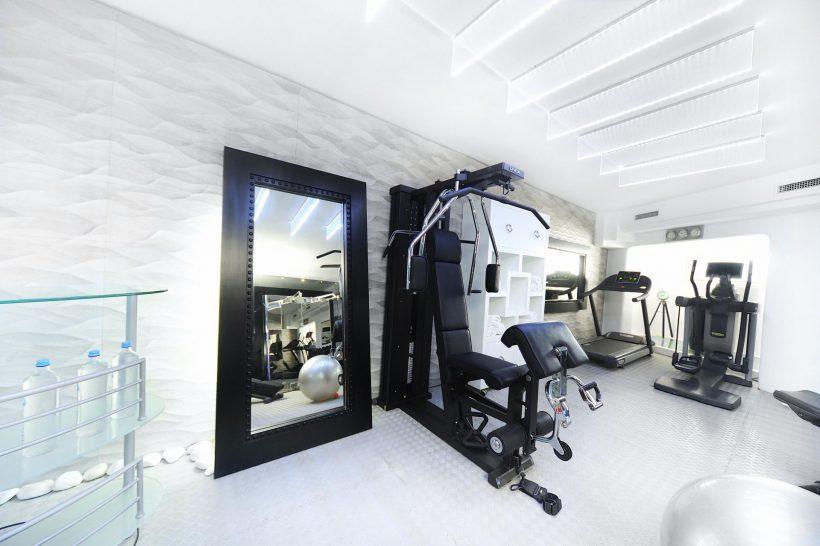 Kivotas Fitness Room