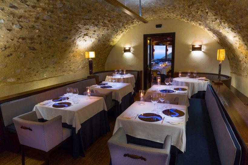 Monastero Santa Rosa Hotel Spa Amalfi Ristorante Il Refettorio
