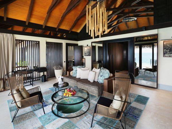 Ocean Pool House Living Room