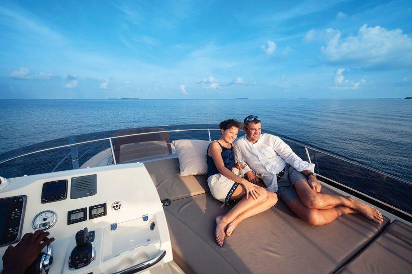 Velaa private island Prestige Yacht Cruises
