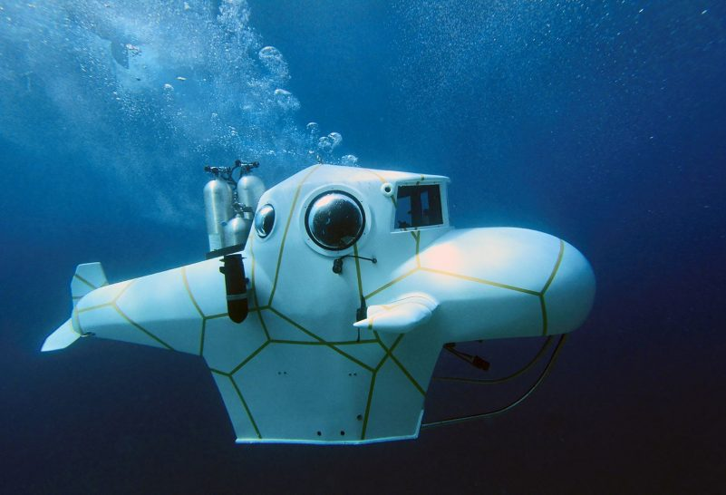 Velaa private island Semi Submarine