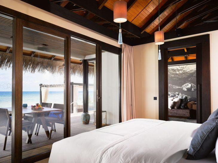 Sunrise Water Pool Villa Bedroom