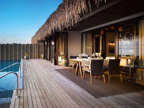 Sunset Deluxe Water Pool Villa Terrace