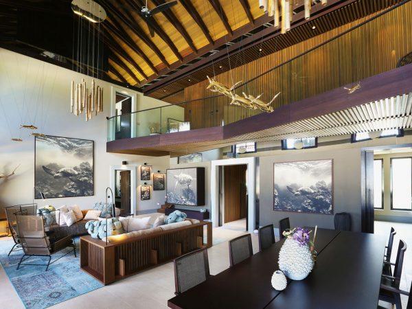 Velaa Private Residence Living Room