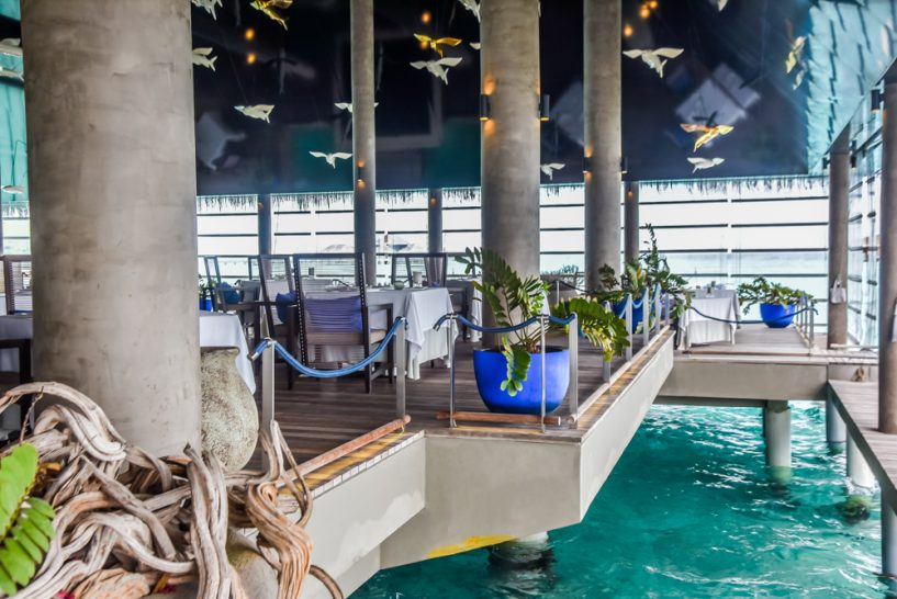 Velaa private island Aragu Restaurant