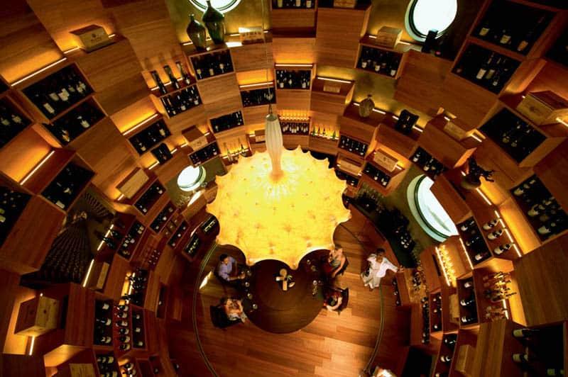 Velaa private island Tavaru wine cellar