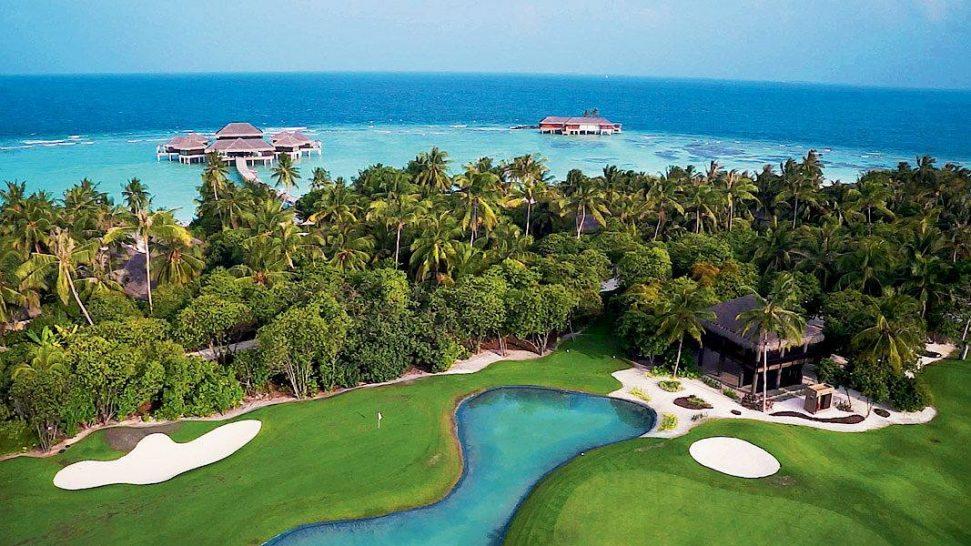 Velaa private island golf
