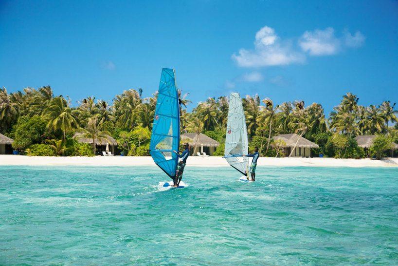 Velaa private island water sports