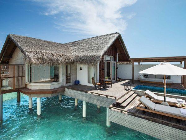 Hotel Fairmont Maldives Water Villa Exteriors
