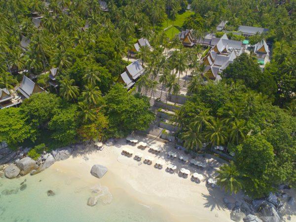Aerial View Pansea Beach