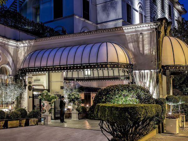 Aldrovandi Villa Borghese Entrance
