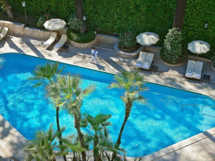 Aldrovandi Villa Borghese Rome pool
