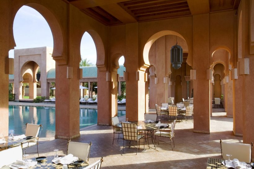 Amanjena Pool Terrace