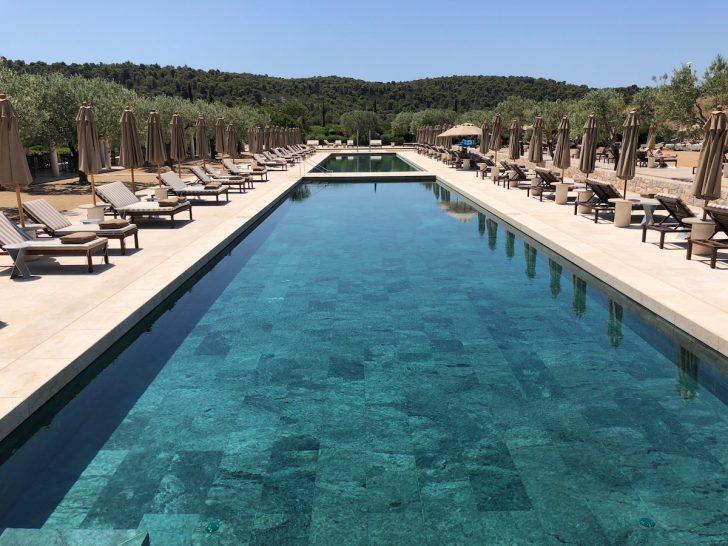 Amanzoe Beachclub Pools