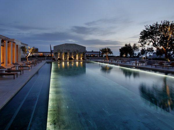 Amanzoe pool