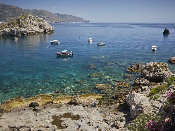 Belmond Villa Sant Andrea Sicily Beach