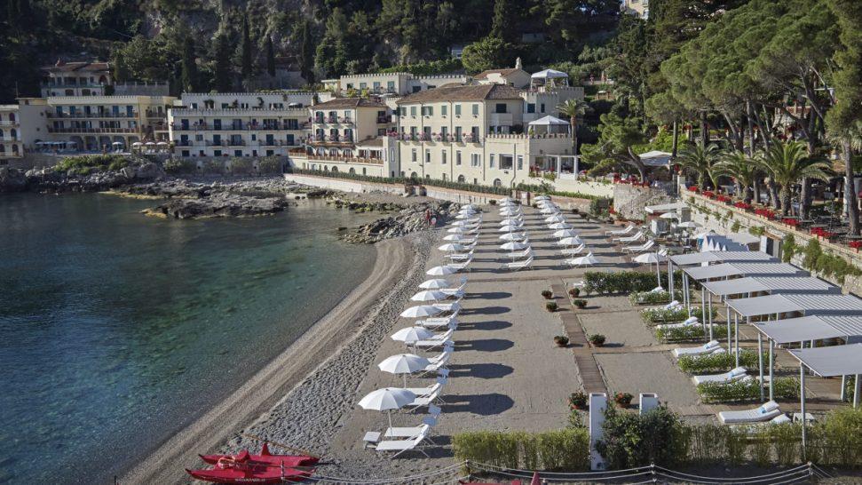Belmond Villa Sant Andrea Private Beach