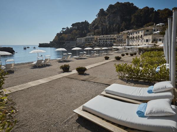 Belmond Villa Sant Andrea Sicily Beach front