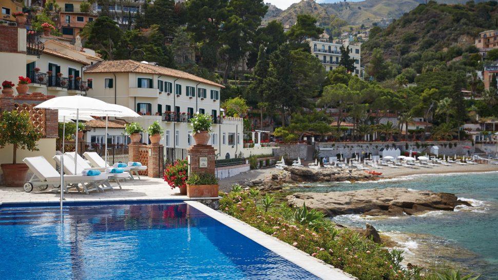 Belmond Villa Sant Andrea Sicily pool