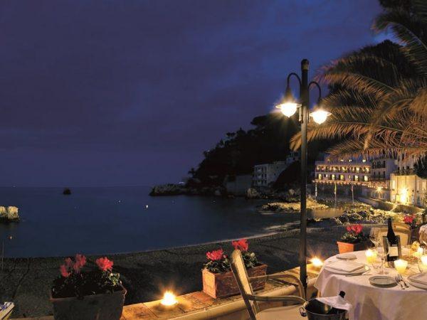 Belmond Villa Sant Andrea Sicily romantic dining