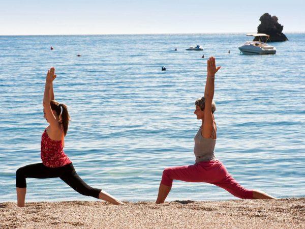 Belmond Villa Sant Andrea Yoga by the beach