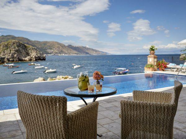 Belmond Villa Sant Andrea pool bar