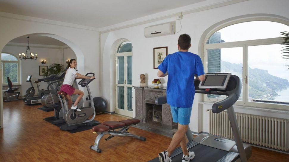 Belmond hotel caruso gym