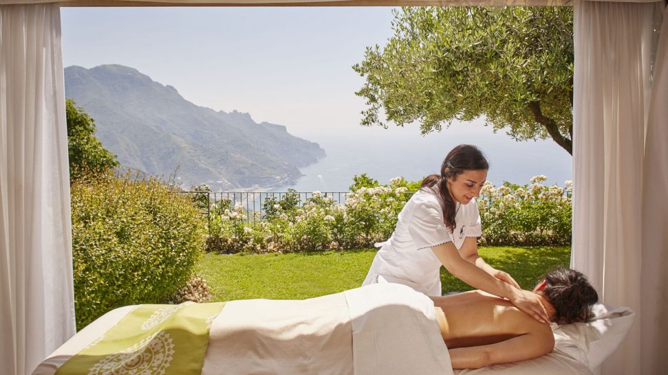 Belmond hotel caruso spa wellness center