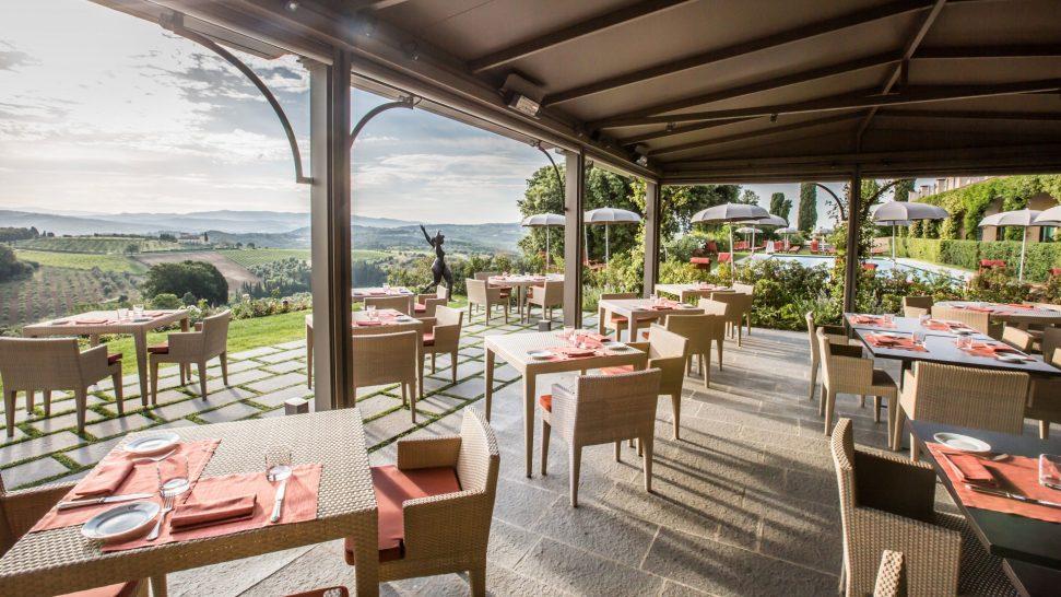 Como Castello del nero The Pavilion restaurant