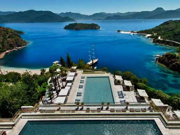 D Maris Bay Datca Peninsula Turkey