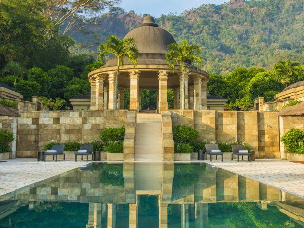 Amanjiwo Dalem Jiwo Suite Pool And Rotunda