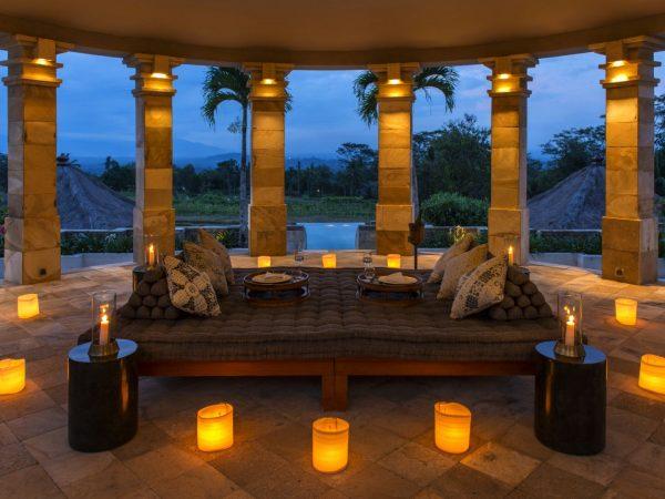 Amanjiwo Dalem Jiwo Suite Rotunda Interior