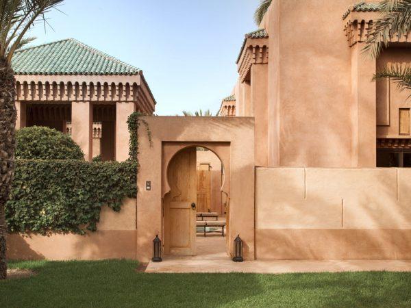 Amanjena Pavilion entrance