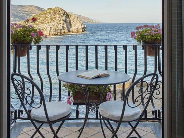 Belmond Villa Sant Andrea Sicily Room Balcony