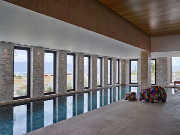 Indoor Pool Bedroom Villa