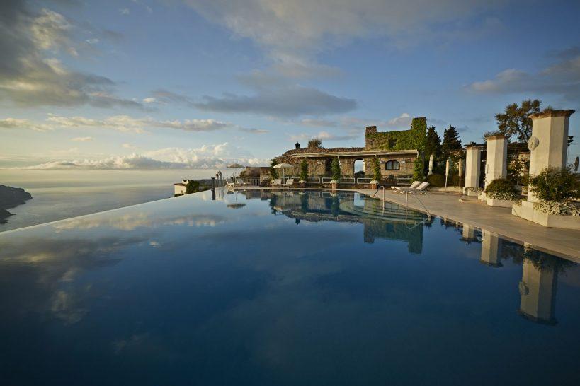 Belmond Caruso hotel pool ravello
