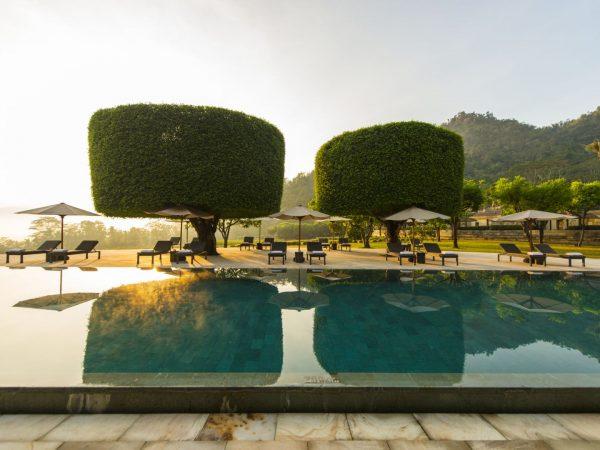 Amanjiwo Main Swimming Pool