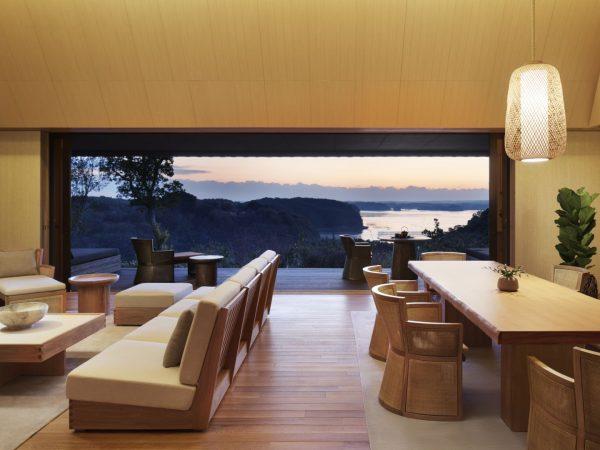 Sunset Over Ago Bay From A Nagi Villa
